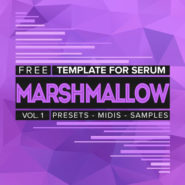 Marshmallow presets serum on Bantana Audio