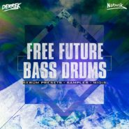 Free Future Bass Drums on Bantana Audio