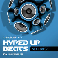 Hyped Up Beats – Volume 2 by Production Master on Bantana Audio