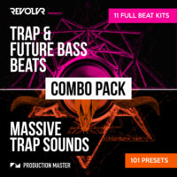 Revolvr Trap Combo Pack by Production Master on Bantana Audio