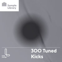 300 Tuned Kicks by Lounge Loop on Bantana Audio