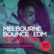 Melbourne Bounce / EDM Presets – For Xfer Serum and NI Massive by Production Master on Bantana Audio