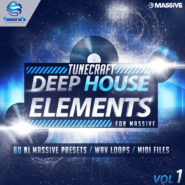 Tunecraft Deep House Elements Vol.1 by Tunecraft on Bantana Audio