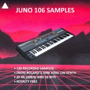Juno 106 Samples by The Audio Bar on Bantana Audio