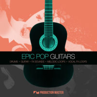 Epic Pop Guitars by Production Master on Bantana Audio