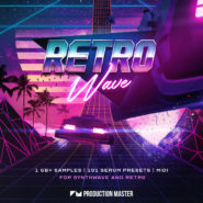 Retro Wave: Synthwave & 80's Retro by Production Master on Bantana Audio